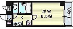 サンロイヤル長柄[4階]の間取り