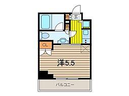 日神デュオステージ浦和高砂[3階]の間取り