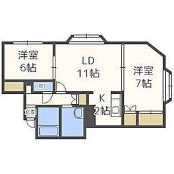 Ke24[2階]の間取り