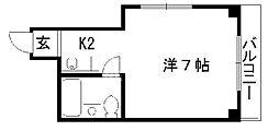 ファーストステージK2[305号室号室]の間取り
