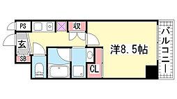 マリンシティ三宮[7階]の間取り