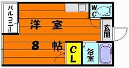福岡県福岡市東区香椎駅東2丁目の賃貸アパートの間取り
