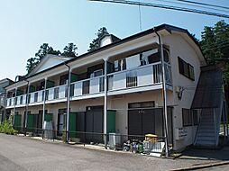 栃木県宇都宮市西川田本町3丁目の賃貸アパートの外観