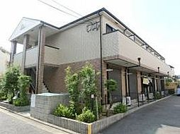 ルナ・コート上野芝[101号室]の外観
