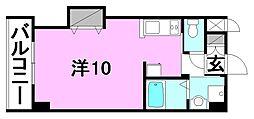 ドルーク三番町[403 号室号室]の間取り