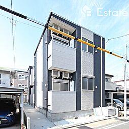 愛知県名古屋市西区児玉2丁目の賃貸アパートの外観