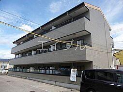 コーポリベール A棟[3階]の外観