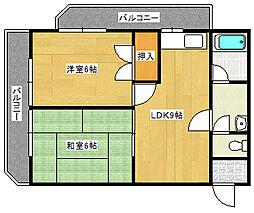 第3若宮ビル[301号室]の間取り
