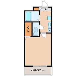 兵庫県尼崎市南塚口町2の賃貸マンションの間取り