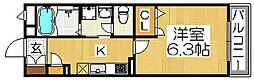 シャーメゾン大浜[3階]の間取り