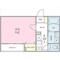 (仮称)船橋市海神町2丁目プロジェクト[202号室]の間取り