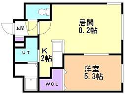 KOULA(コウラ) 4階1LDKの間取り