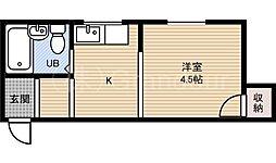 スイレンマンション1号館[2階]の間取り