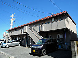 福岡県北九州市八幡西区春日台5丁目の賃貸アパートの外観