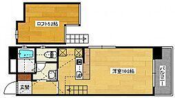エンバシーコート矢賀[5階]の間取り