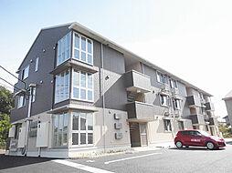 滋賀県甲賀市水口町中邸の賃貸アパートの外観