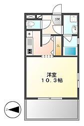 グラン・アベニュー西大須[12階]の間取り