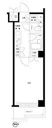 ルーブル新宿水道町[101号室号室]の間取り