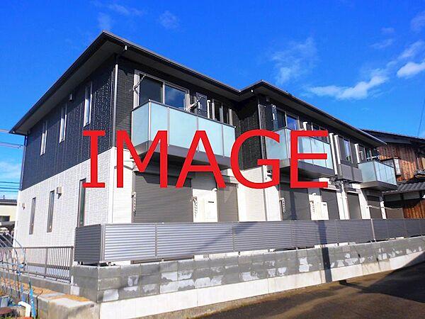 滋賀県東近江市五個荘小幡町の賃貸アパートの画像