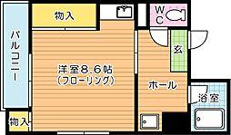 タツノ山王ビル[4階]の間取り