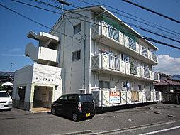 愛媛県東温市横河原の賃貸マンションの外観