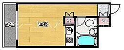 ロマネスク南薬院[2階]の間取り