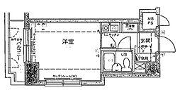 シルフィード衣笠[4階]の間取り