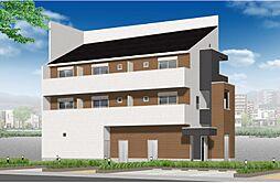 (仮称)港区新川町II 新築アパート[201号室号室]の外観