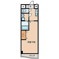 ラ・エスペランサ[3階]の間取り
