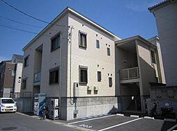 埼玉県川口市本前川2丁目の賃貸アパートの外観