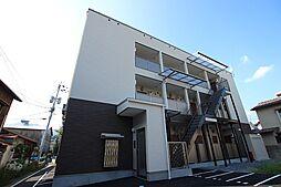 広島県広島市安佐南区山本1丁目の賃貸アパートの外観