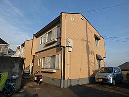 大阪府茨木市北春日丘4丁目の賃貸アパートの外観