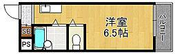 アーバンハイツテラモト[3階]の間取り