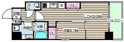 プリエ福島[3階]の間取り
