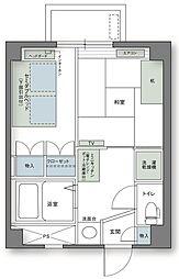 アルファコンフォート高松[703号室]の間取り