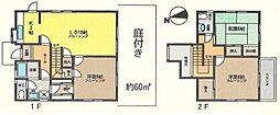 [一戸建] 神奈川県茅ヶ崎市柳島2丁目 の賃貸【/】の間取り