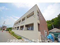 大阪府枚方市渚東町の賃貸アパートの外観
