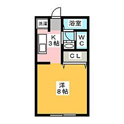 サンガーデンChuoh[2階]の間取り