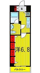 Log浅草[3階]の間取り