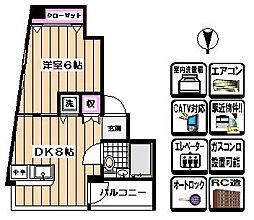 聖観ビル[3階]の間取り