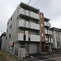 北海道札幌市厚別区大谷地東5丁目の賃貸マンションの外観