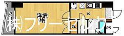 ロイヤル日赤通[14階]の間取り
