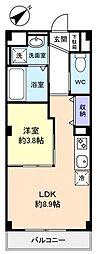 仮)緑が丘西2丁目マンション[3階]の間取り