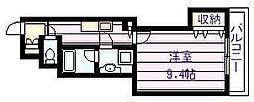 仮称)新築河内国分マンション[3階]の間取り
