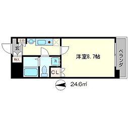 SANSIRO[2階]の間取り