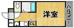 福岡県福岡市東区香住ケ丘4丁目の賃貸マンションの間取り