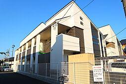 埼玉県草加市草加2の賃貸アパートの外観