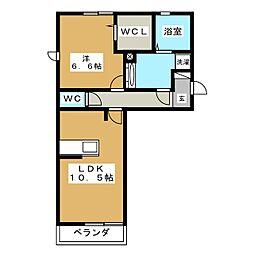仮)D-room大垣市築捨町[1階]の間取り