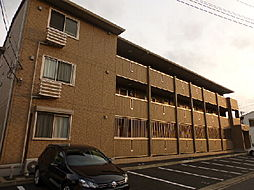 茨城県ひたちなか市小砂町1丁目の賃貸アパートの外観