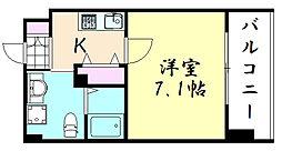 JPレジデンス大阪城東II[208号室]の間取り